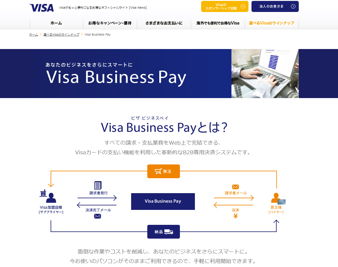 Visa Business Pay